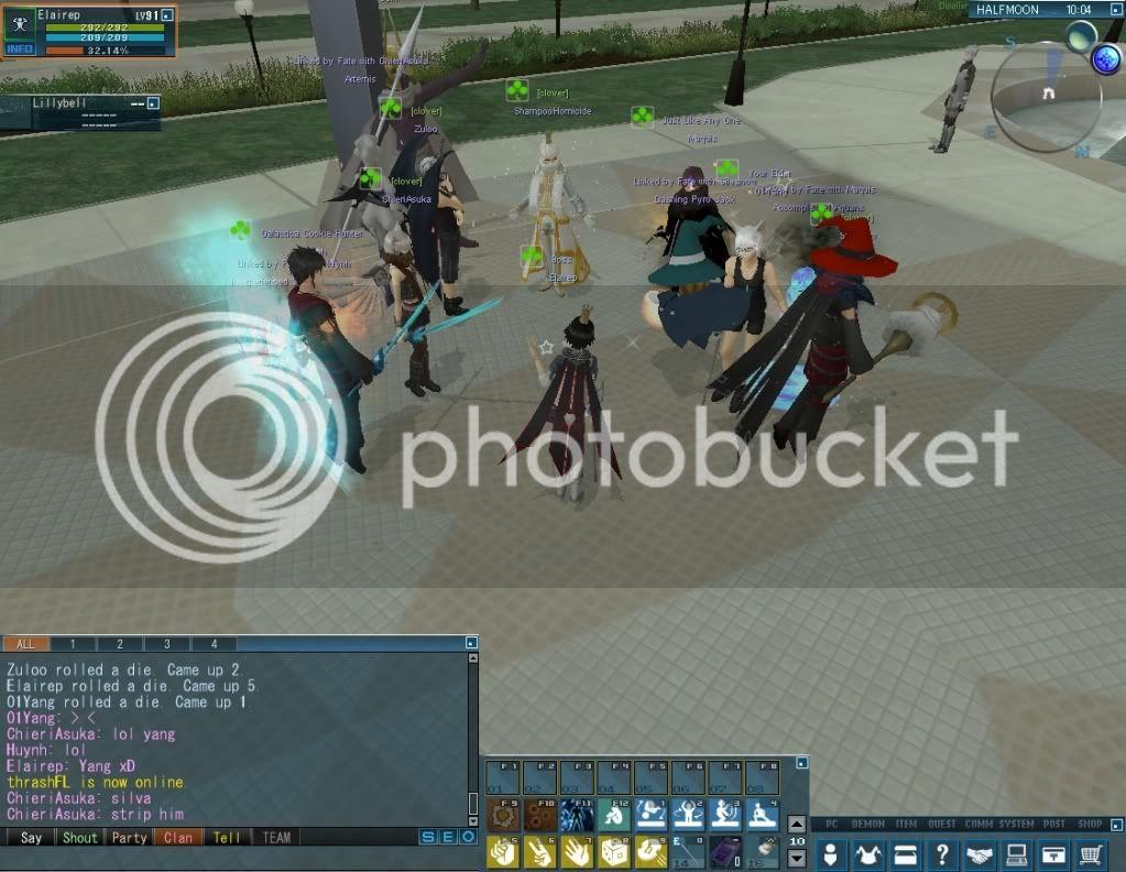 Impromptu Event: Clan Strip Dice :B 20110114_0332_02