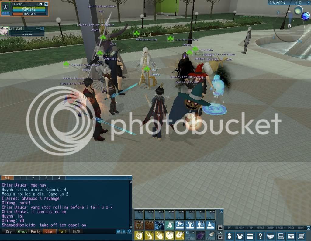 Impromptu Event: Clan Strip Dice :B 20110114_0340_12