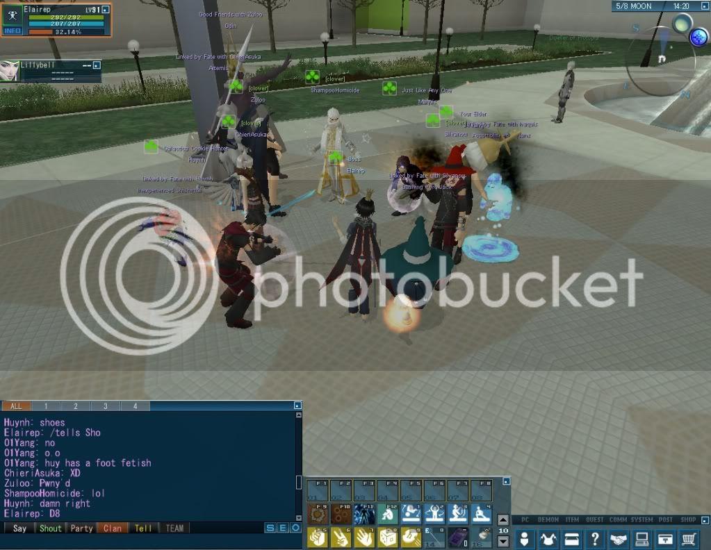 Impromptu Event: Clan Strip Dice :B 20110114_0340_35