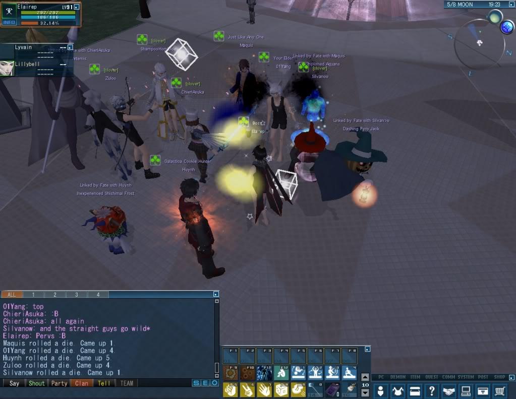 Impromptu Event: Clan Strip Dice :B 20110114_0350_42