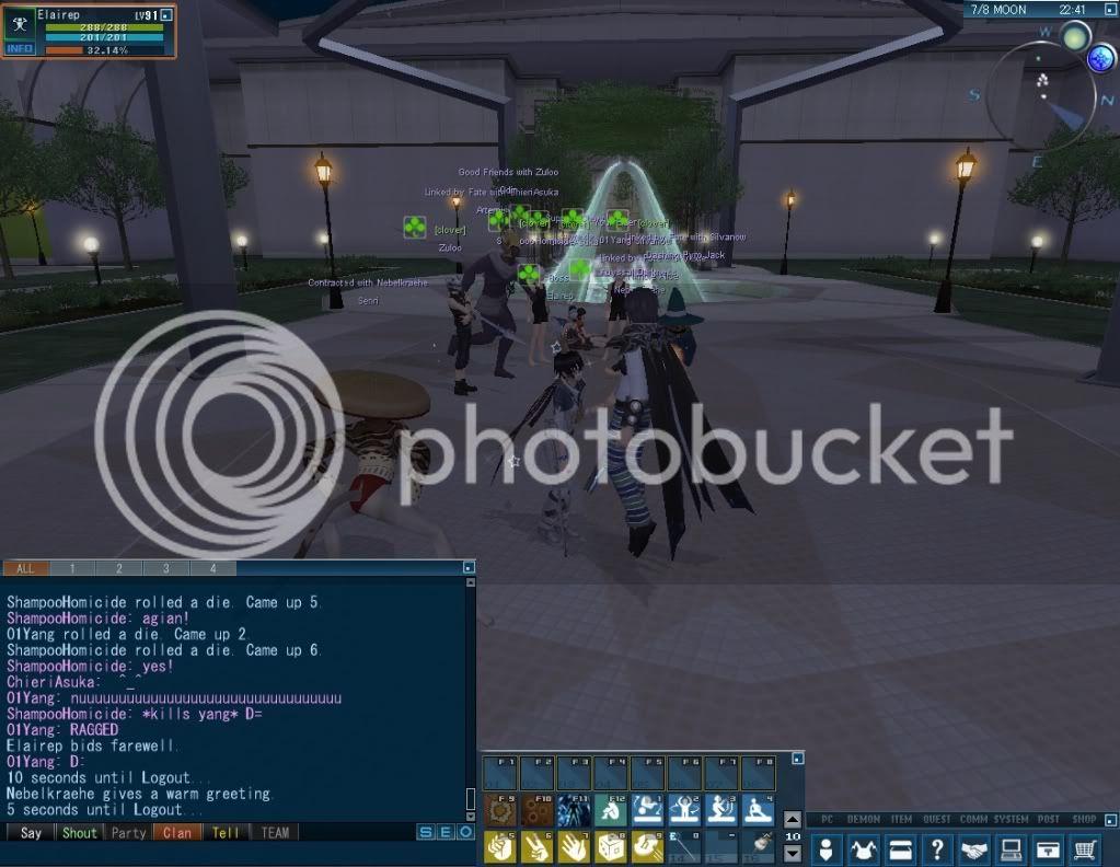 Impromptu Event: Clan Strip Dice :B 20110114_0445_15