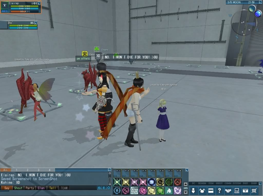 SCAVENGER HUNT-EVENT!! :3  20110314_0131_56