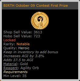 BIRTH October Contest! BirthOct