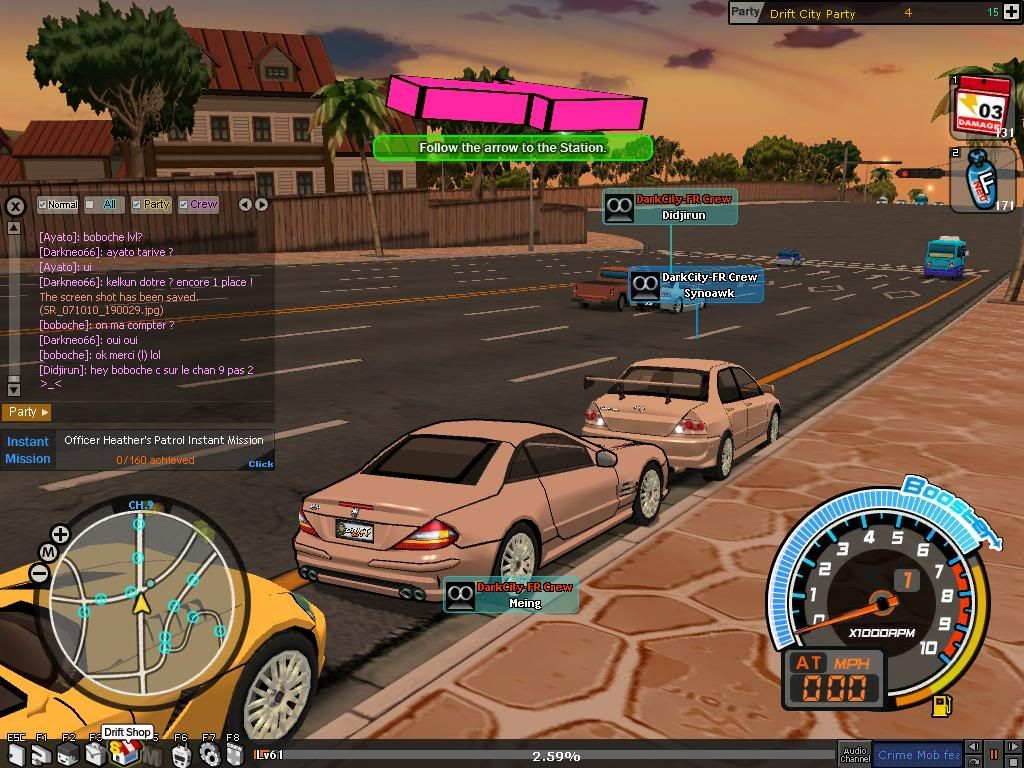 DarkCity savent rouler mais pas se garer ... SR_071010_190048
