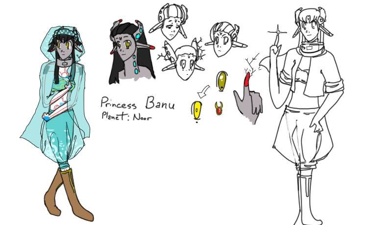 Scribbles, sketches, and WIPs - Page 2 Banu