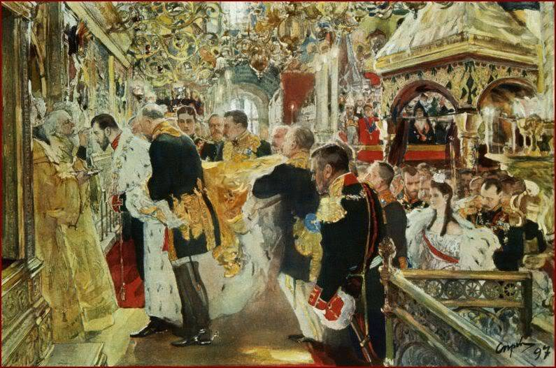 Diversos temas de la Rusia Imperial - Página 11 Coronationpainting