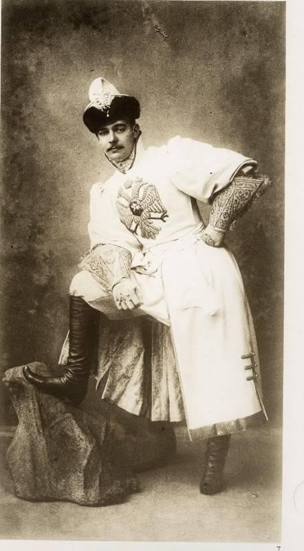 Gran Baile de 1903 Andrei