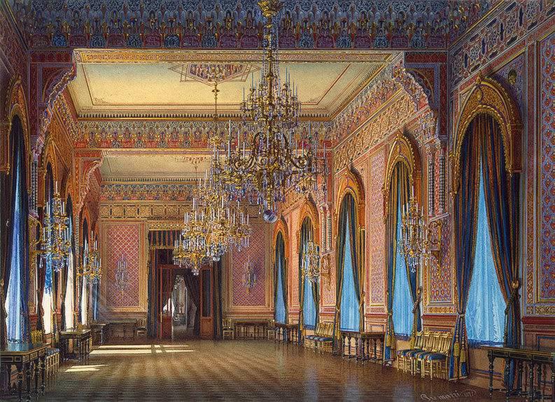 Palacios de la nobleza TheSupper-room