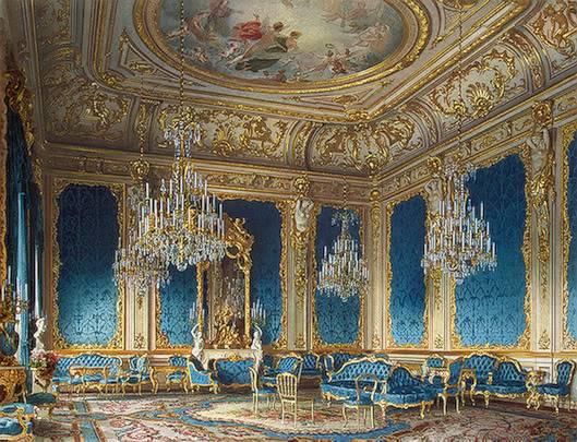 Palacios de la nobleza Bluedrawingroom