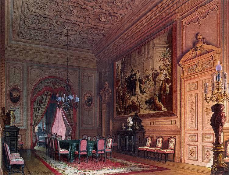 Palacios de la nobleza Dinningroom