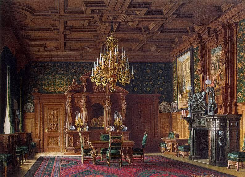 Palacios de la nobleza Dinnroom