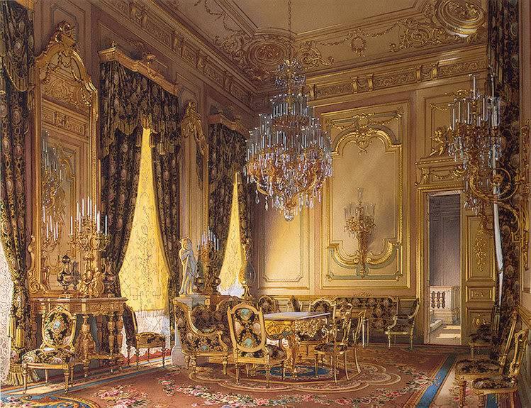 Palacios de la nobleza Goldendrawingroom