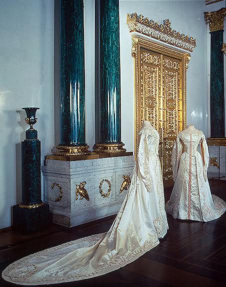 Vestido oficial de los Romanovs GrandPrincessTatyanaNikolayevnasCer