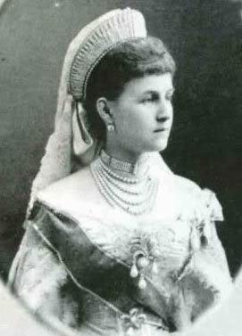 Vestido oficial de los Romanovs PrinceAlixofGreeceRussianCo