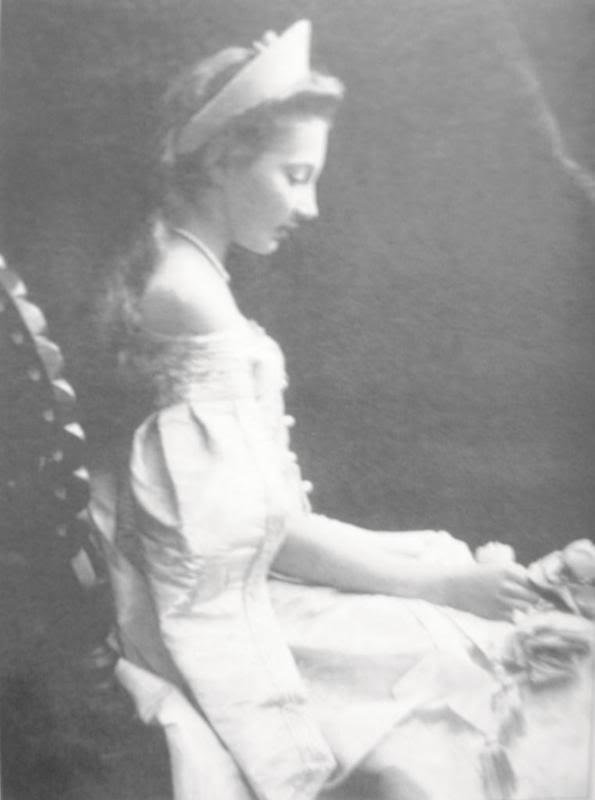 Vestido oficial de los Romanovs TatianaKonstantinovna