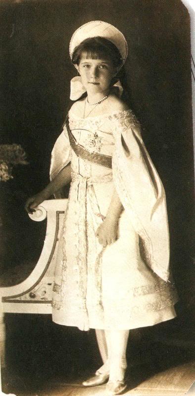 Vestido oficial de los Romanovs Anastasiagd