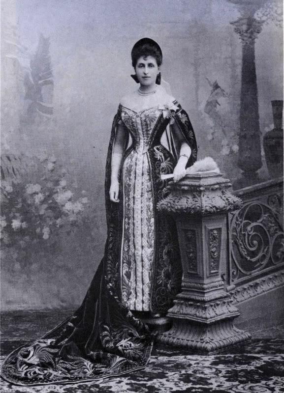 Vestido oficial de los Romanovs CountessFreederica