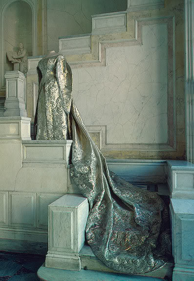 Vestido oficial de los Romanovs Courtdress