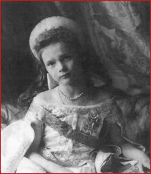 Vestido oficial de los Romanovs Gdtatiana