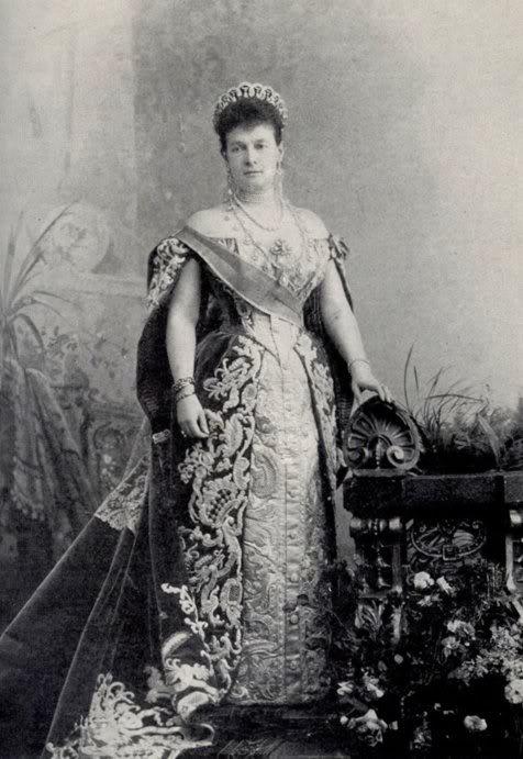 Vestido oficial de los Romanovs Grandduchessvladimir