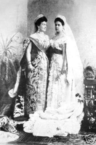 Vestido oficial de los Romanovs Mariahelena