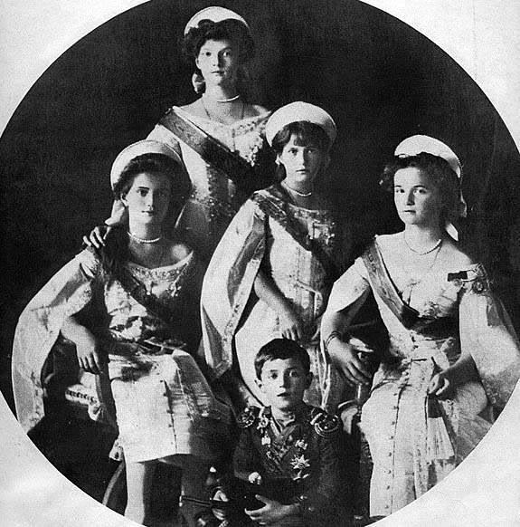 Vestido oficial de los Romanovs Otmaa