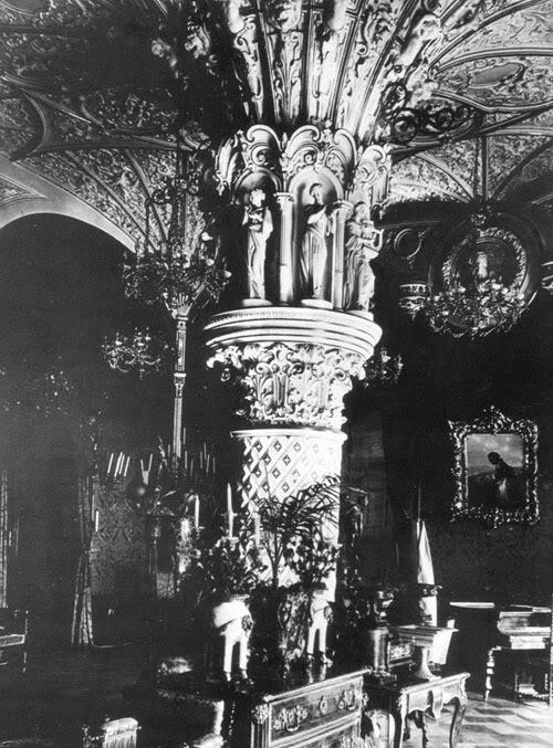 Los palacios de los Romanovs Drawignroomgdssai