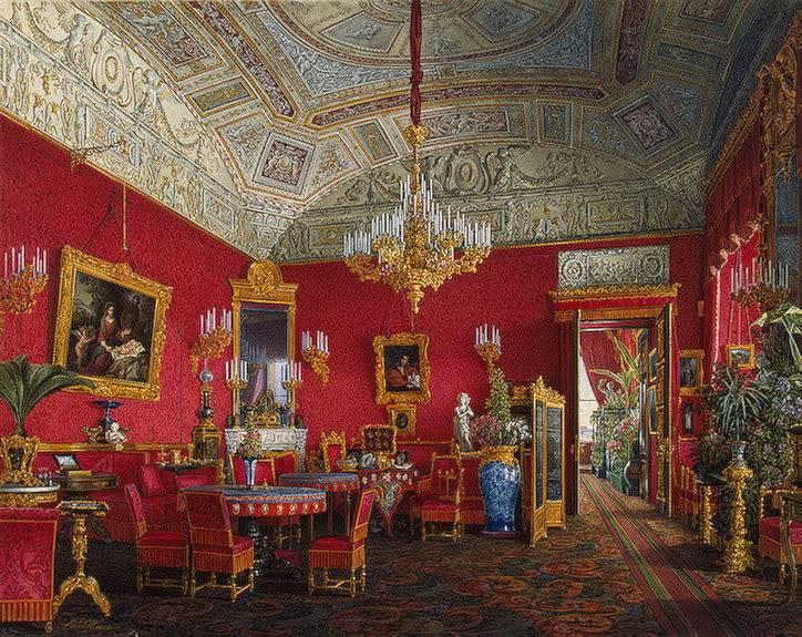 Los palacios de los Romanovs LargeDrawing-Room