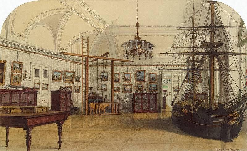 Los palacios de los Romanovs NurseryoftheChildrenofEmperorNichol