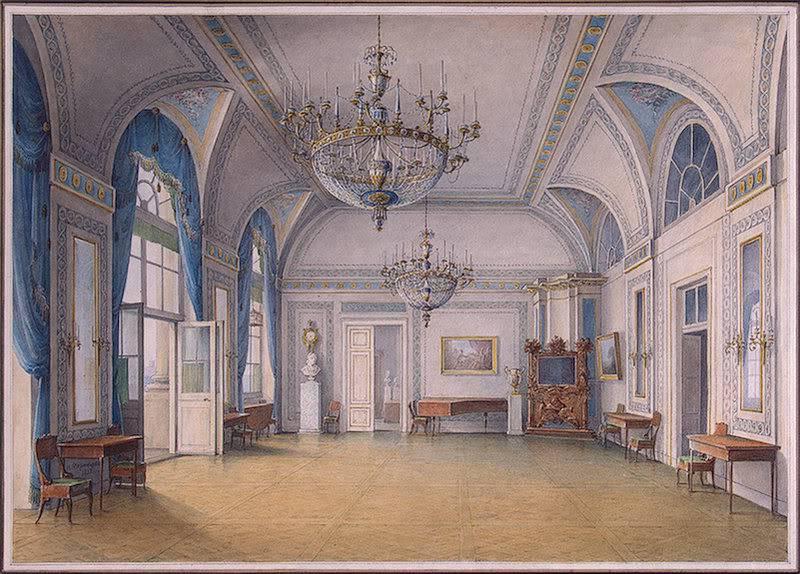 Los palacios de los Romanovs ReceptionRoomAII