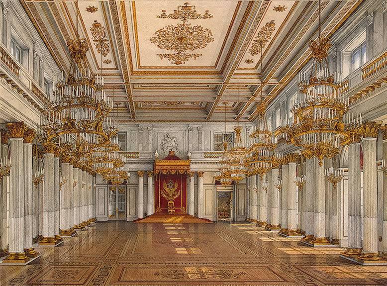 Los palacios de los Romanovs StGeorgesHall