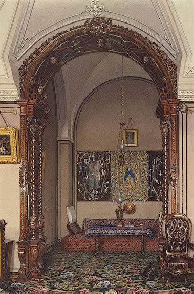 Los palacios de los Romanovs TheAlcoveoftheStudyofGrandPrinceNik
