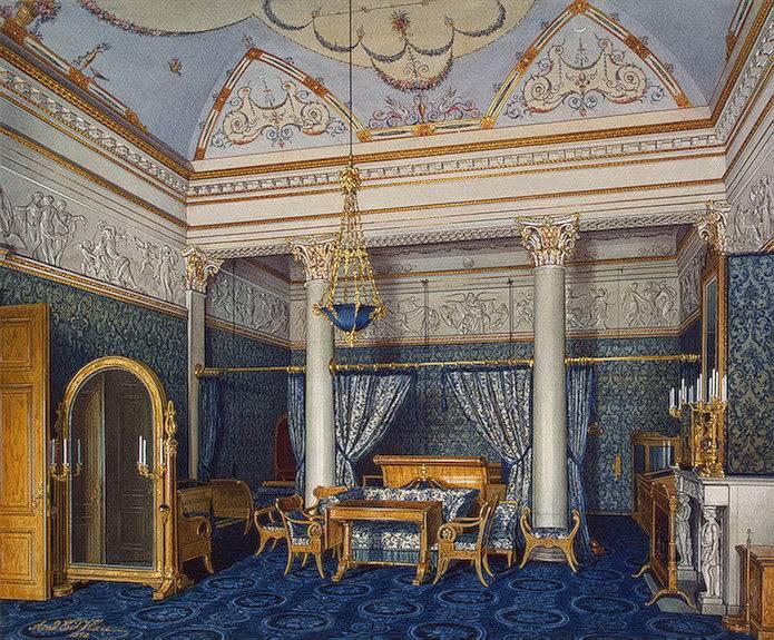 Los palacios de los Romanovs TheBedchamberofEmpressAlexandraFyod