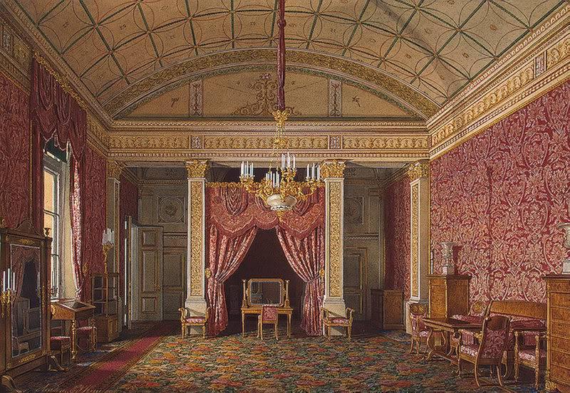 Los palacios de los Romanovs TheBedroomofGrandPrincessMariaNikol