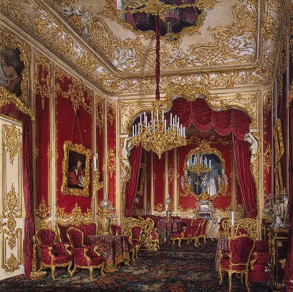Los palacios de los Romanovs TheBoudoirmariaalexandrova1861