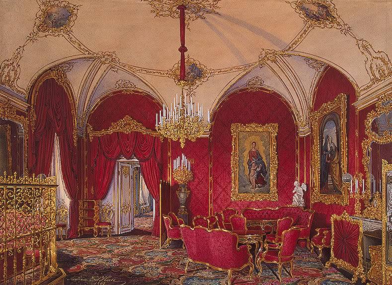 Los palacios de los Romanovs TheCornerRoom
