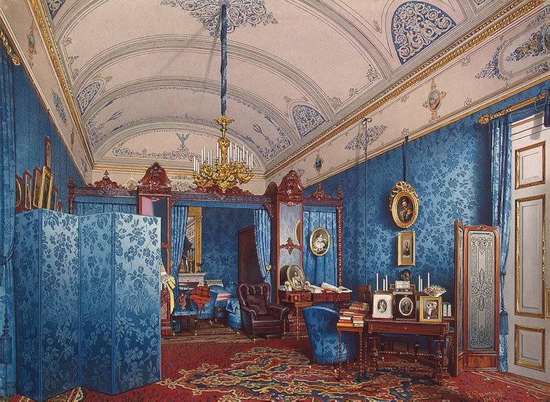 Los palacios de los Romanovs TheDressingRoomofEmpressMariaAlexan