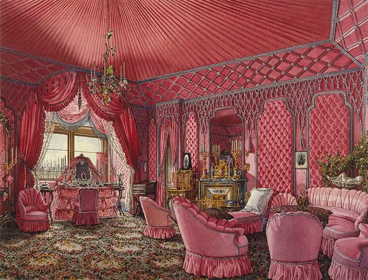 Los palacios de los Romanovs TheFourthReservedApartmentTheDressi