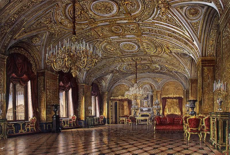 Los palacios de los Romanovs TheGoldDrawing-Room