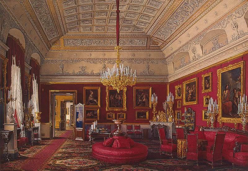 Los palacios de los Romanovs TheLargeStudyofGrandPrincessMariaNi