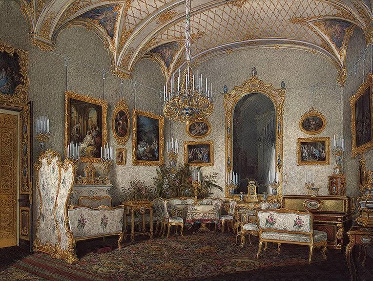 Los palacios de los Romanovs TheWhiteDrawing-RoomofEmpressAlexan