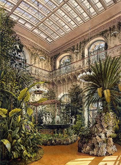 Los palacios de los Romanovs TheWinterGarden
