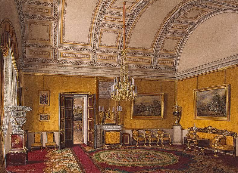 Los palacios de los Romanovs TheYellowSalon