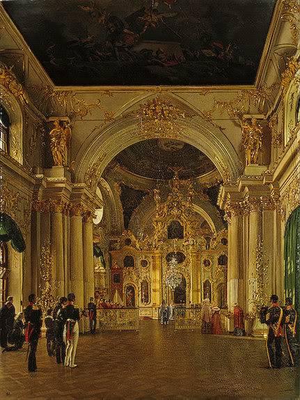Los palacios de los Romanovs ViewoftheGreatChurch