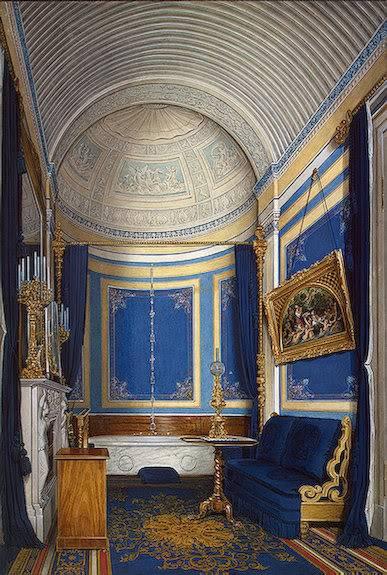 Los palacios de los Romanovs Bathroomgrandprincessmariaalexalexa