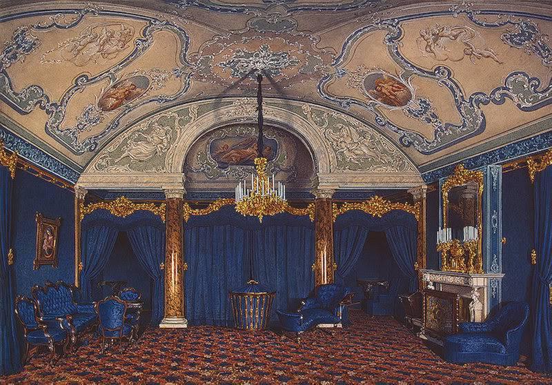 Los palacios de los Romanovs Bedroom