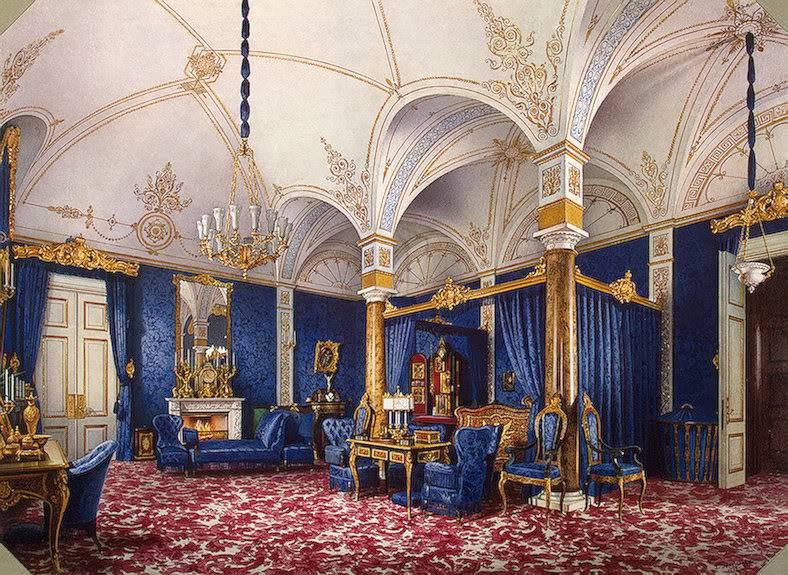 Los palacios de los Romanovs Bedroomempressmaria1859