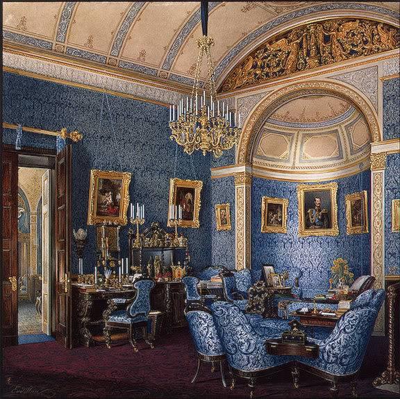 Los palacios de los Romanovs Bourdoir