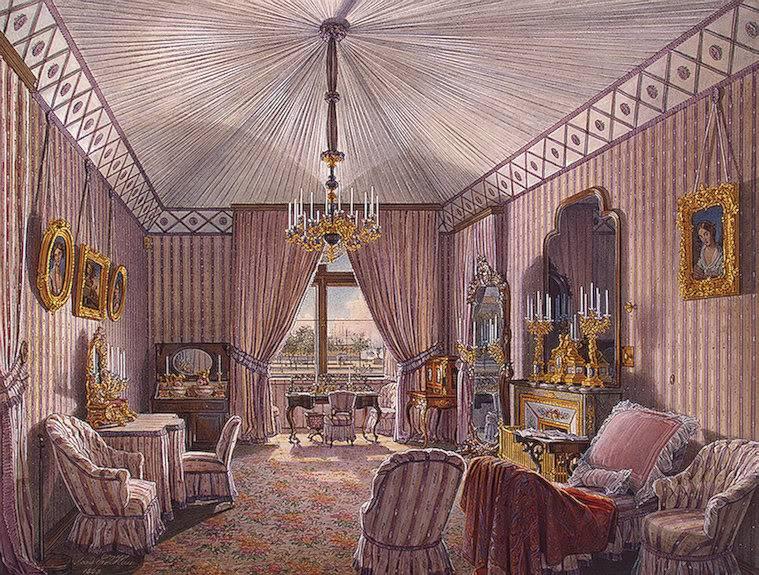 Los palacios de los Romanovs Dresingroom