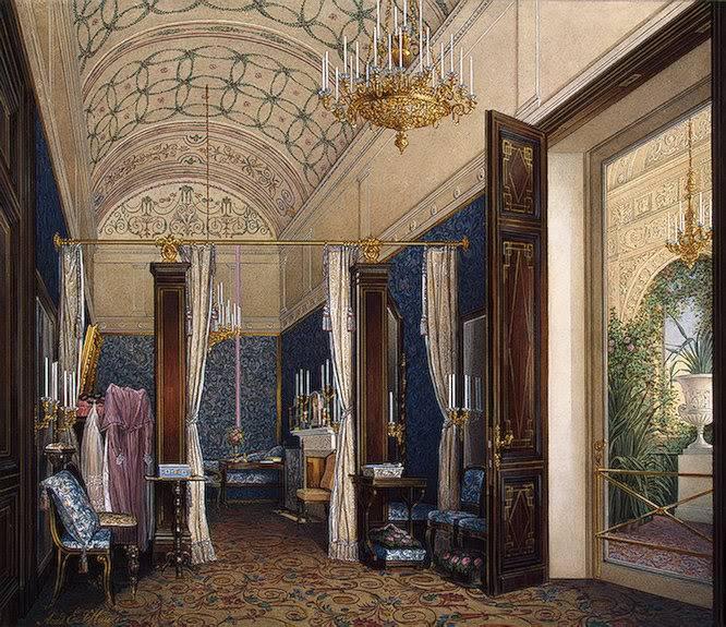 Los palacios de los Romanovs Dressingroomempressalexander1871